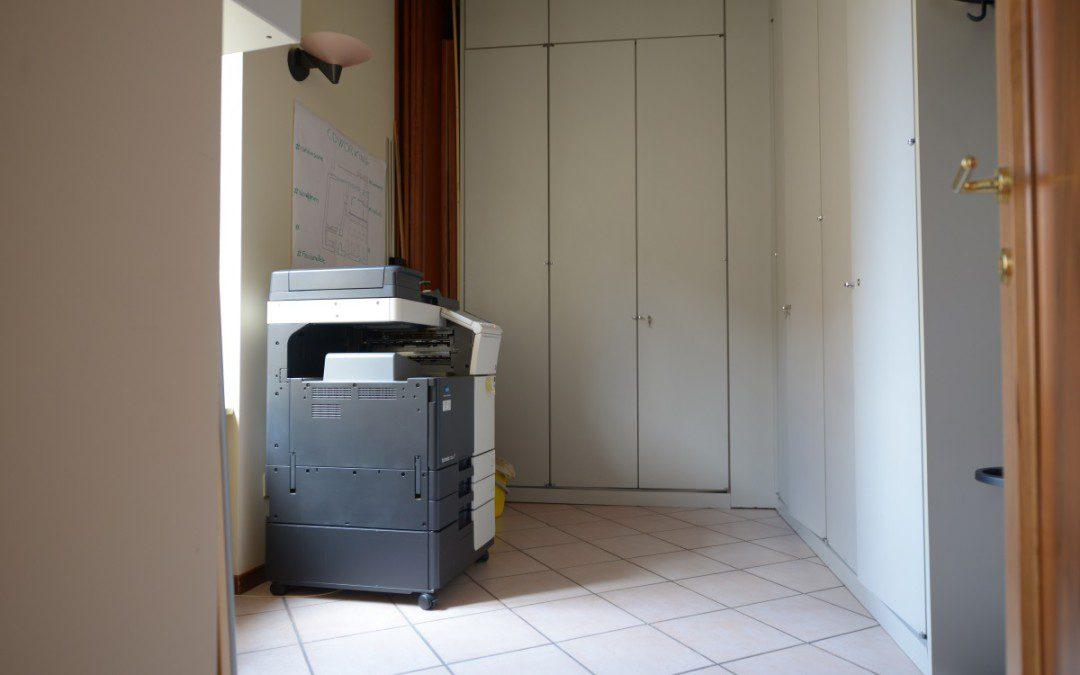 archivio e stampante