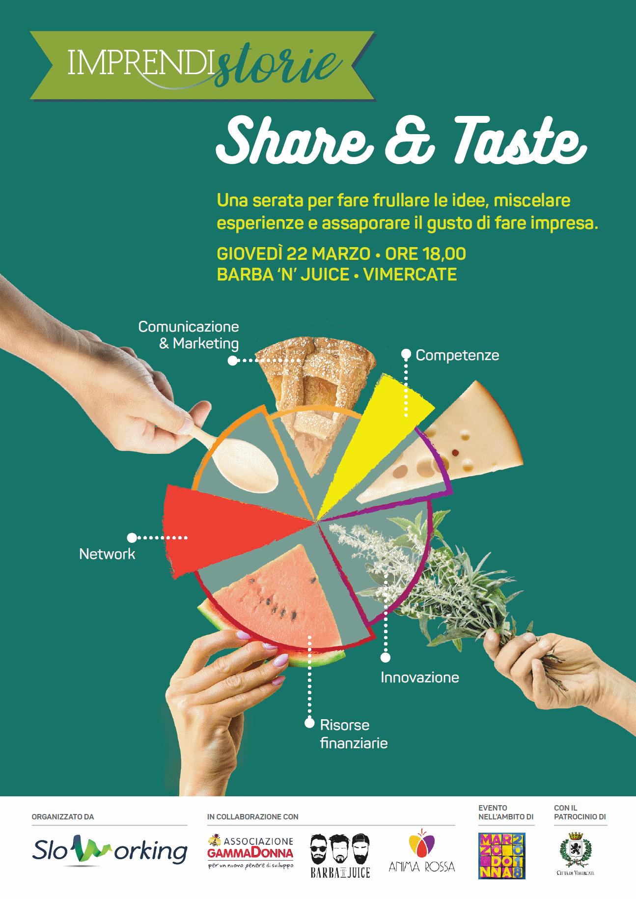 Imprendistorie - Share & Taste