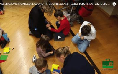 Videopillola sui laboratori del progetto Family Hub