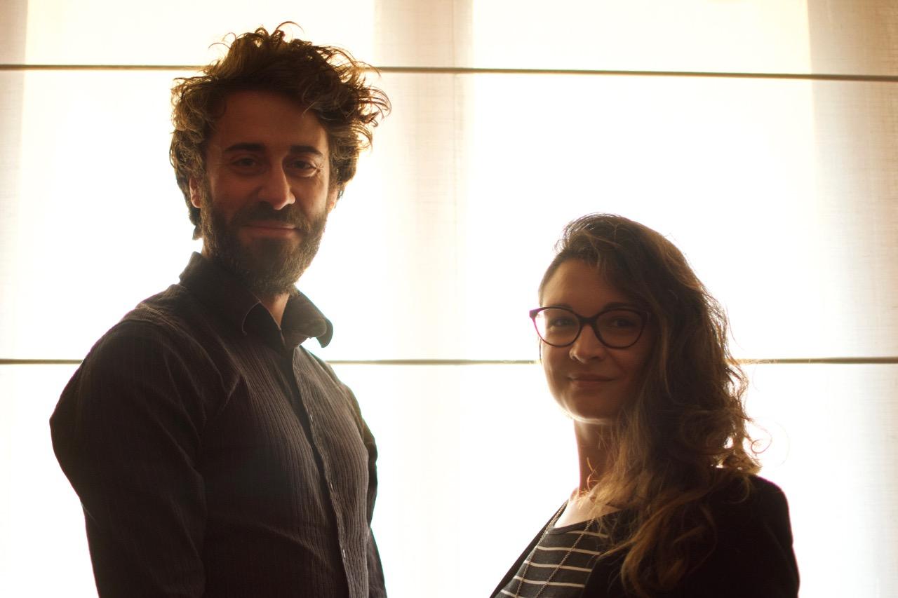 Laura Romagnoni e Luca Bailo
