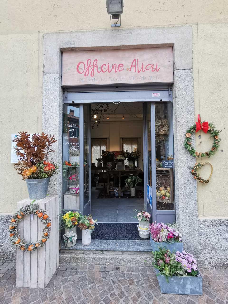 Concept store Officine Aliai