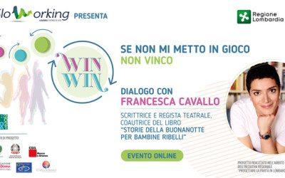 Win Win OFF – Francesca Cavallo incontra i ragazzi delle scuole superiori
